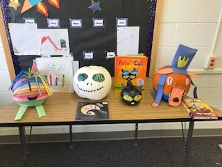 Rainbow Crayon, Jack Skellington, Pete the Cat, and Dog Man