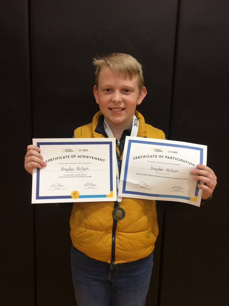McPherson County GeoBee Champion!